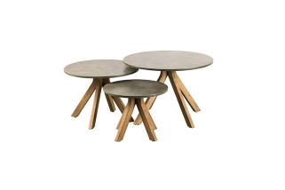 SUNS Lagos - Side tables - SUNS Grey Collection