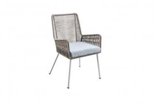 SUNS Faros – Dining Tuinstoel – SUNS Grey Collectie