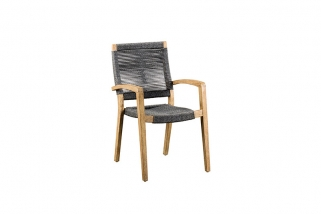 SUNS Itea - Outdoor Dining Chair - SUNS Grey Collection