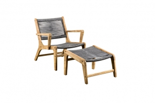 SUNS Itea - Lounge chair - SUNS Grey Collection