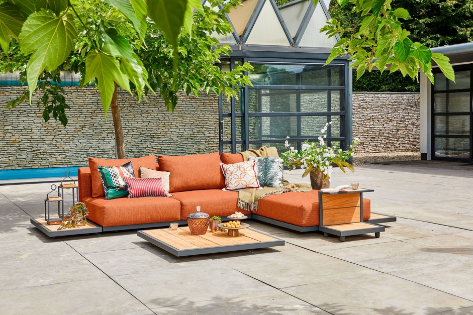 Chaise longue – Kota – Green collectie